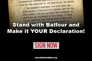 Sign The Balfour Declaration!