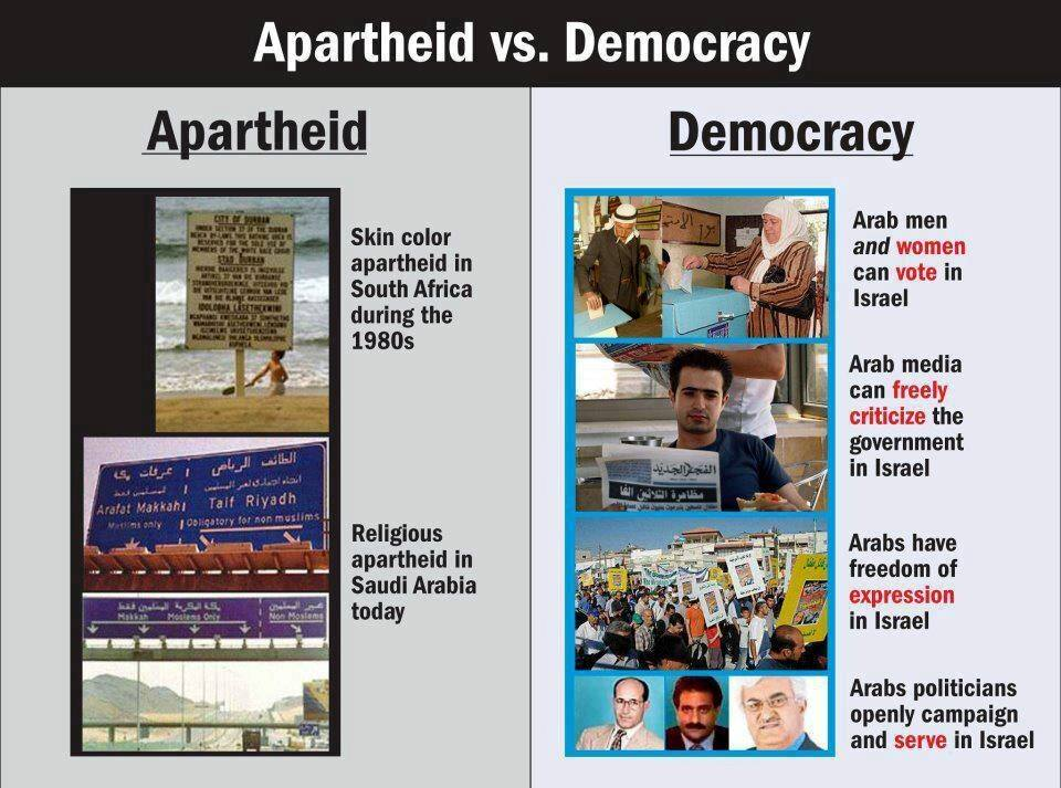 apartheid vs democracy