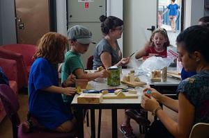 Shutaf, inclusion, camp