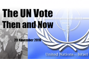 RSVP for The UN Vote Then and Now
