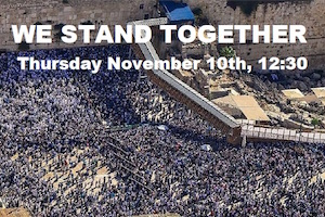 We Stand Together Rally NYC