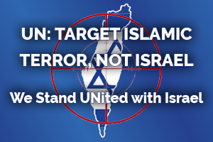 We Stand United with Israel Rally