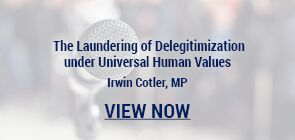 The Laundering of Delegitimization under Universal Human Values.