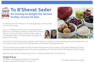 Tu B'Shevat Seder NOVA JCC 2017