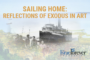 Sailing Home: Reflections on the Exodus 1947 through Art