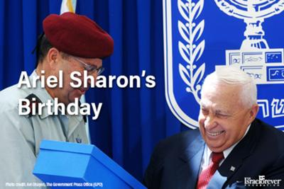 Ariel Sharon's birthday (1928)