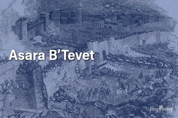 Asara B'Tevet: 10th of Tevet a day of fasting for Jerusalem
