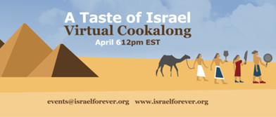 Cooking Israel: A Taste of Israel, A Taste of Freedom