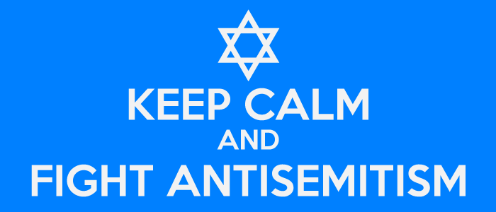 Keep Calm and Fight Antisemitism