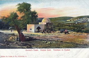 Postcard of Rachel's Tomb 1910