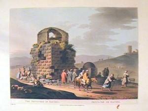 Luigi Mayer Sepulchre of Rachel 1803