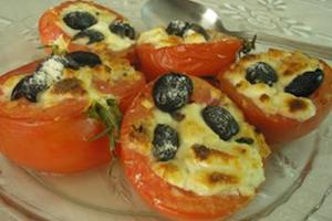 Cheese-Stuffed Tomatoes