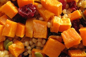 Israeli Pumpkin Couscous