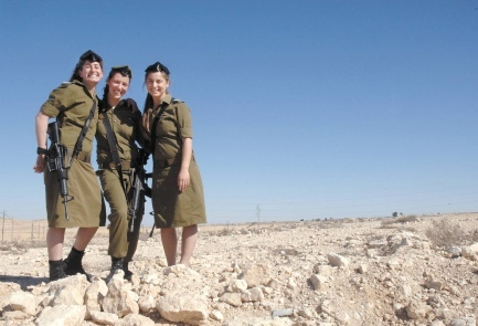 Three's Company: Trio of Female Olim to Become IDF Officers