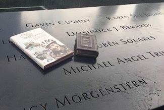 Nancy Morgenstern Memorial 9/11 with Book and Siddur