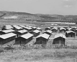 Atlit view of the detainee-camp