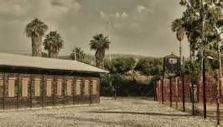 Atlit British detention camp for Jews in Palestine