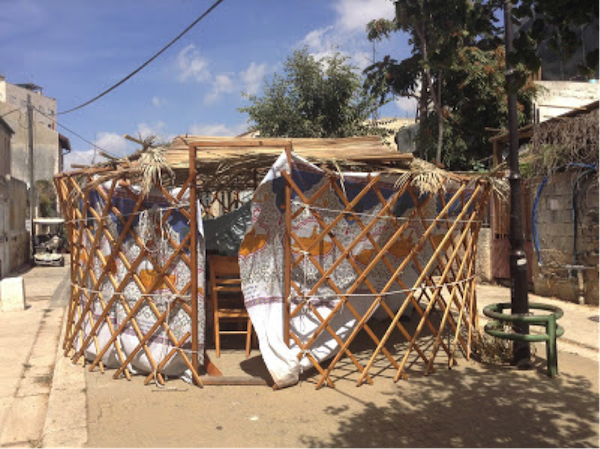 Funky Sukkah Nachlaot Photo- Lisa Richlen