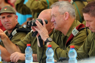 IDF Chief of Staff Lt. Gen. Benny Gantz