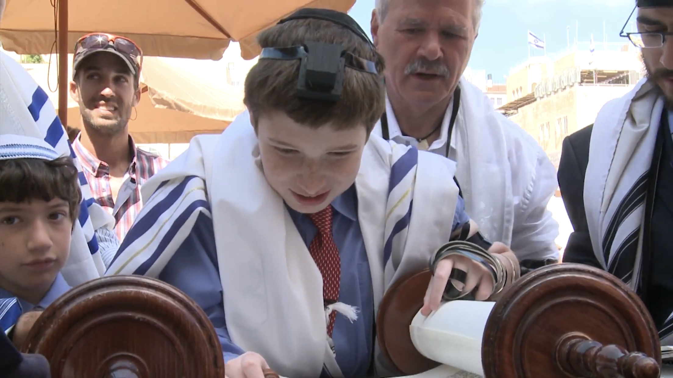 Jacob Bar Mitzvah Kotel