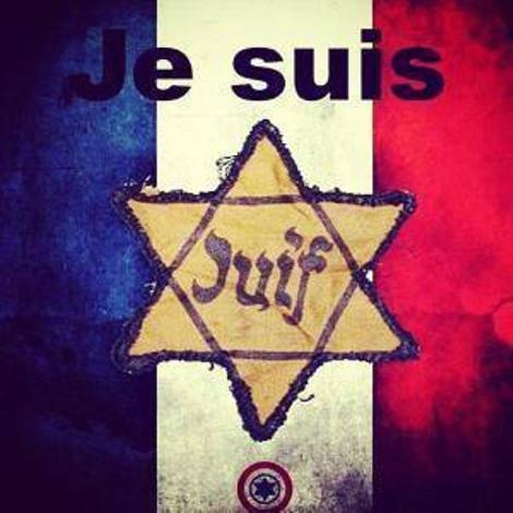 #JeSuisParis or #AmYisraelChai