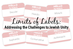Limits of Labels: Addressing the Challenges to Jewish Unity