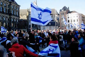 "RALLY: ""Time to Stand Up for Israel"" in Amsterdam"