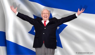 US billionaire and Israel investor, Warren Buffett