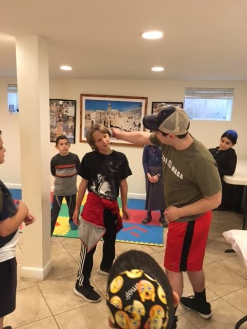 Yaakov teaching Krav Maga
