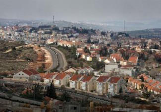 Ariel. View of settlement