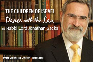 The Children of Israel Dance with the Law