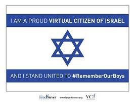 Raise Your Flag in Memory of #EyalGiladNaftali