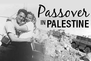 Passover in Palestine