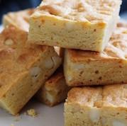 Rosh Hashanah cinnamon blondies