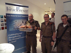 ChanukahGiving With IDF Lone Soldiers