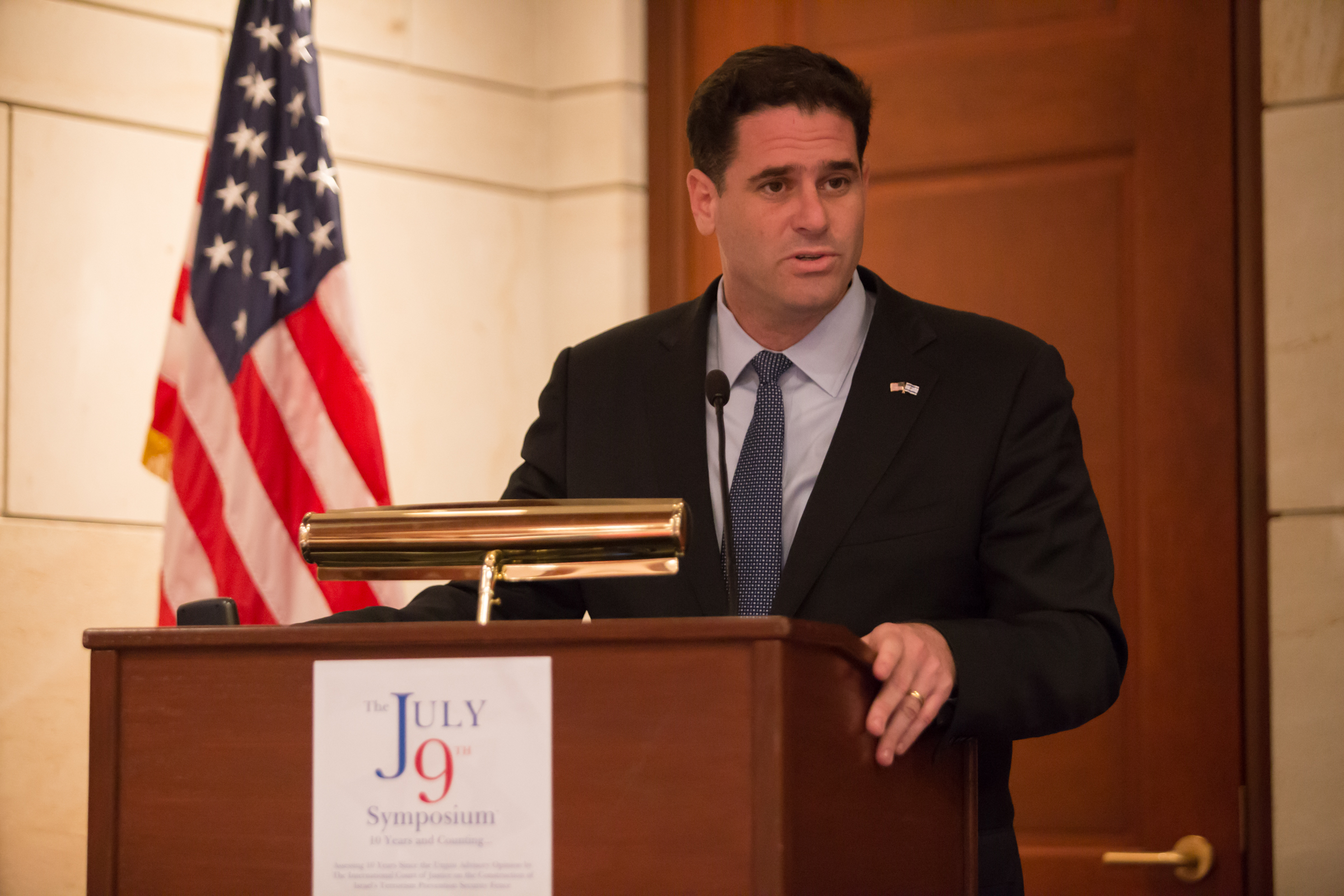 Ambassador Dermer Keynote Address at The July 9th Symposium