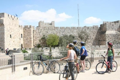 A Bike Ride Through Jerusalem