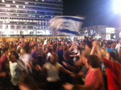 Simchat Torah In Tel Aviv