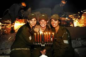 Happy Chanukah To Israel's Lone Soldiers