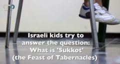 Israeli Kids Explain Sukkot
