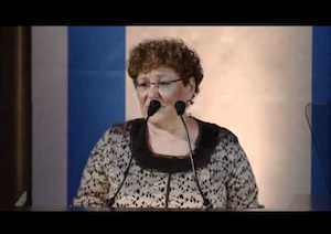 Miriam Peretz at FIDF National Dinner