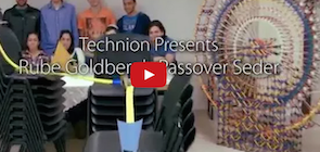 How Technion Students Celebrate Passover
