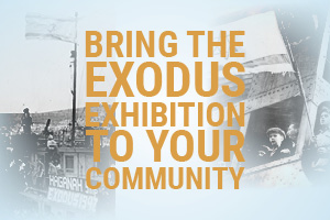 United States Tour: Bring The Exodus Exhibition & Memorial Project To Your Community