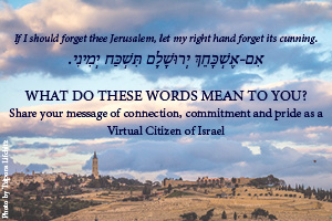 Inspiring Messages for Jerusalem