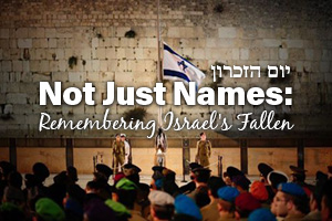 Not Just Names: Remembering Israel's Fallen
