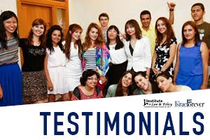 Testimonials from the Institute for Law and Policy