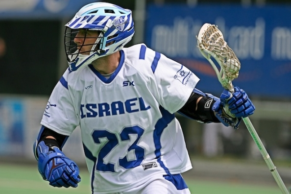 Israel Lacrosse Striker Evan Goldstein