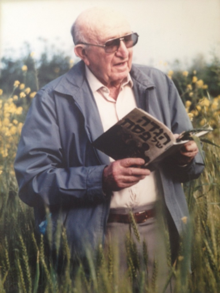 Aryeh Ben-Gurion, nephew of Israel's first prime minister and collector of kibbutz traditions Photo credit: Courtesy of the Kibbutz Institute for Holidays and Jewish Culture