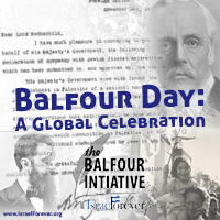 Balfour Day With Israel Forever