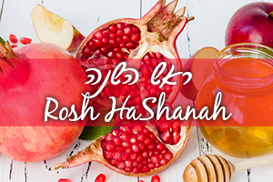 Your Israel Connection for Rosh HaShanah
